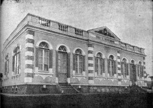 Grupo Escolar Vicente Machado em 1917.