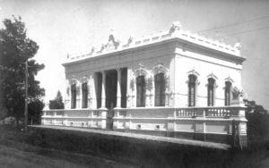 Casa Escolar Cruz Machado, em 1906.
