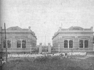 Grupo Escolar Dezenove de Dezembro em 1917.