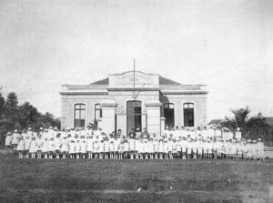 Grupo Escolar Conselheiro Zacarias na década de 1920.