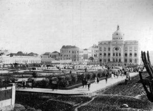 Universidade do Paraná na década de 1920.
