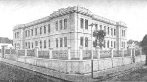 Escola Normal de Ponta Grossa em 1924.