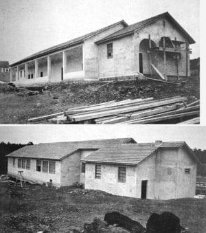 Grupo Escolar Rural de Vera Guarani, em 1942.