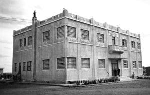 Escola de Trabalhadores Rurais Augusto Ribas, Ponta Grossa, em 1943.