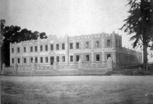 Escola de Capatazes Rurais em 1933.