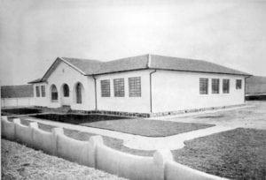 Grupo Escolar do Boqueirão em 1950.