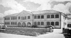 Escola de Química em 1953.