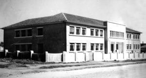 Grupo Escolar Guaíra em 1954.