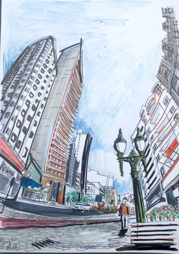 Croquis Urbanos - Alexandre Jungles Carres