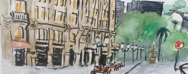 Croquis Urbanos - Ariel Todeschini da Mota