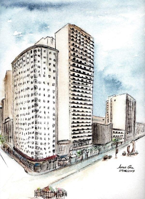 Croquis Urbanos - Aurea Chu