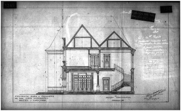 3 – Secção Transversal da residência.