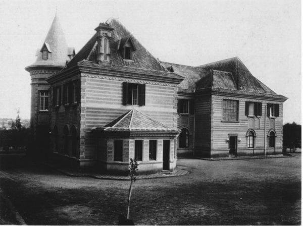 6 – Fotografia da parte posterior do imóvel (década de 1940).