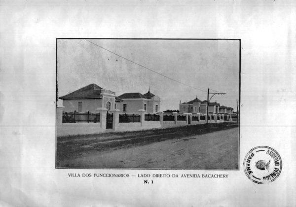 11 - Vila dos Funcionários: lado direito da Avenida Bacacheri (1925/192
