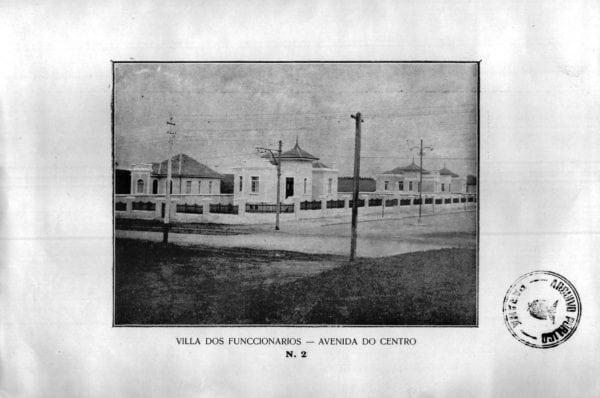 12 - Vila dos Funcionários: Avenida do Centro (1925/1926).