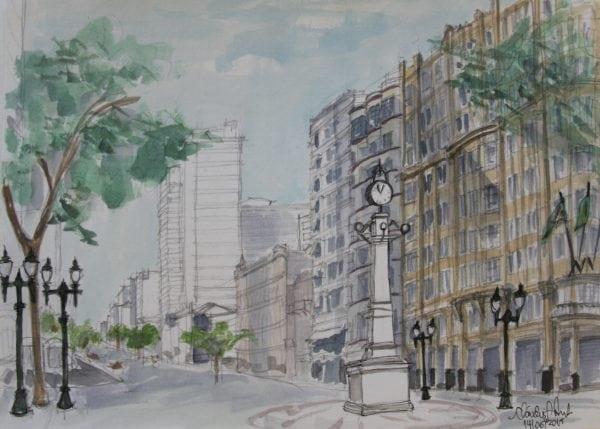 Croquis Urbanos - Claudia Guimarães Pinto