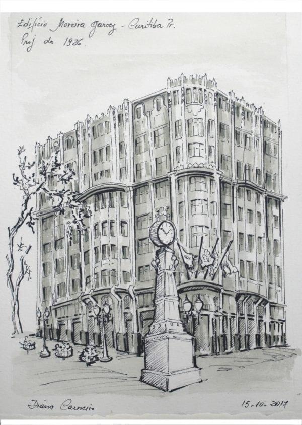 Croquis Urbanos - Diana M. Carneiro Marques