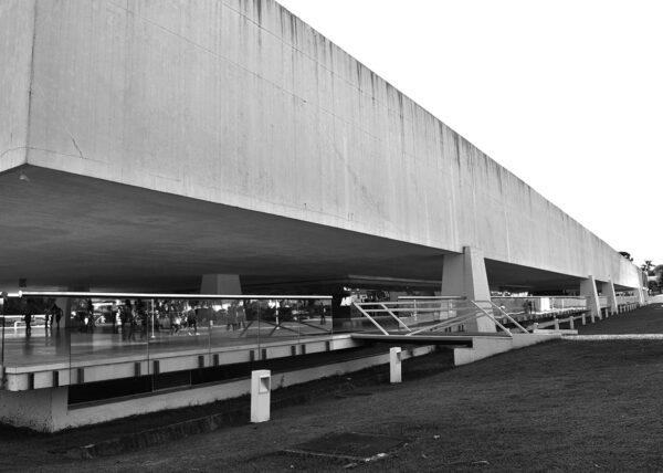 Antigo Edifício Presidente Castelo Branco, atual Museu Oscar Niemeyer, Centro Cívico de Curitiba - 2011