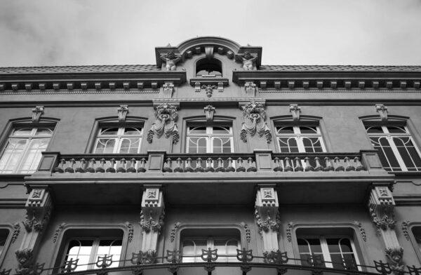 Detalhe do balcão da antiga Sala das Seções da Câmara Municipal - Paço da Liberdade, em Curitiba - 2009.