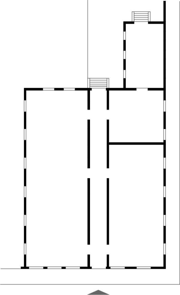 Planta do pavimento térreo do Museu Paranaense, antigo Paço da Assembleia.