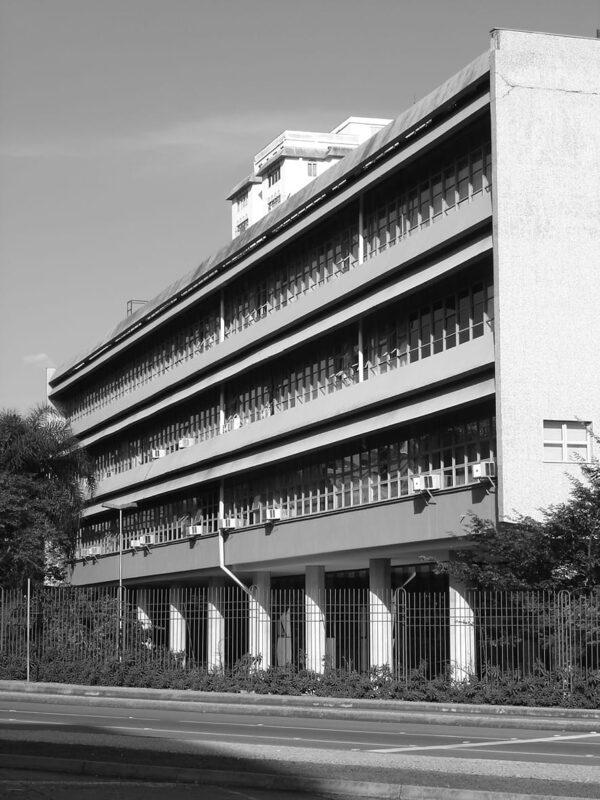 Edifício da Secretaria da Assembleia Legislativa do Paraná, em Curitiba - 2007.
