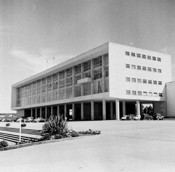 Palácio Iguaçu, em Curitiba - 1969.