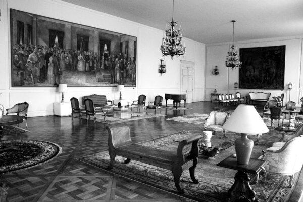 Salão Nobre no primeiro pavimento - s/d.