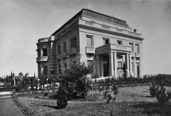 Palacete Garmatter, depois Palácio do Governo, em Curitiba - década de 1930.
