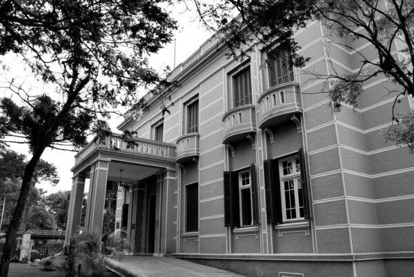 Museu Paranaense, antigo Palácio do Governo, em Curitiba – 2009.