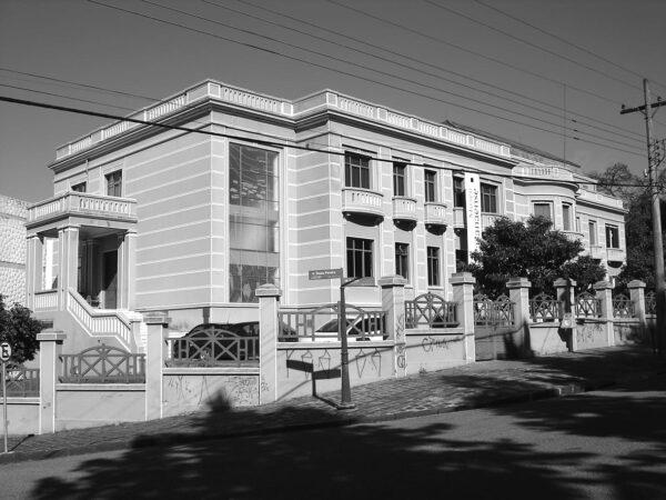 Museu Paranaense, antigo Palácio do Governo, em Curitiba - 2009.