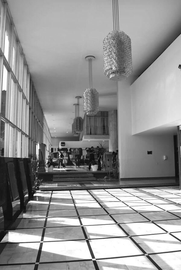 Hall principal do Palácio da Justiça, em Curitiba - 2009