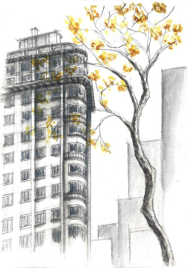 Croquis Urbanos - Eric Shimizu