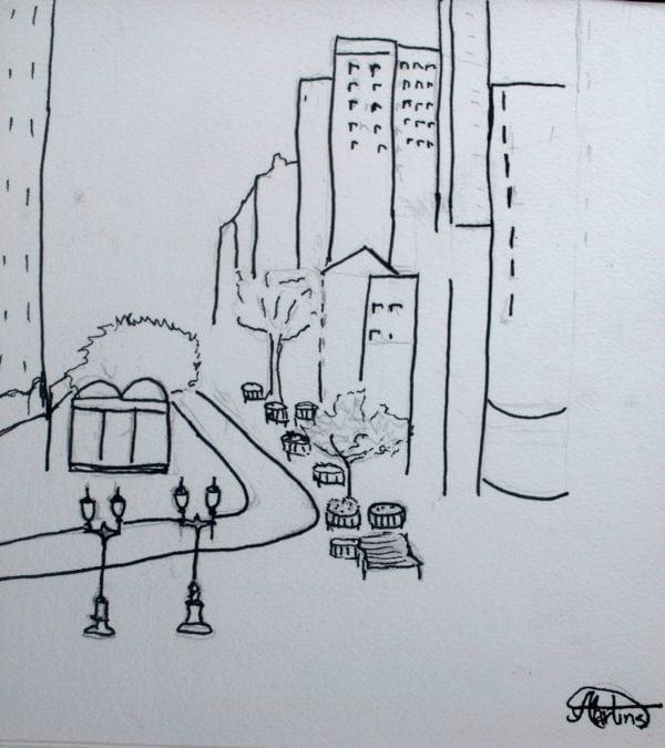 Croquis Urbanos - Indiaiara Agle M.de Oliveira