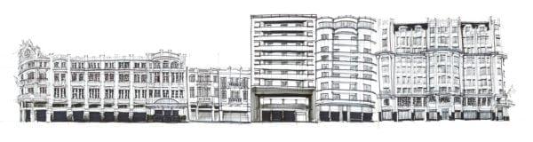 Croquis Urbanos - José Marconi