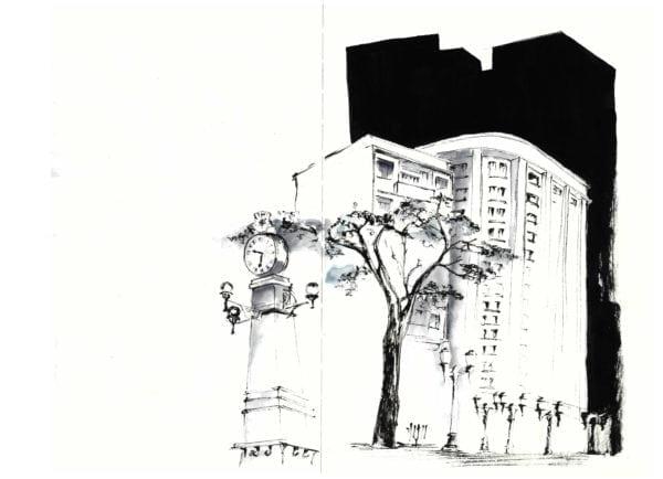 Croquis Urbanos - Luciana Chacorowski