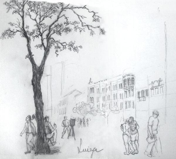Croquis Urbanos - Luiza de Sá Moreira
