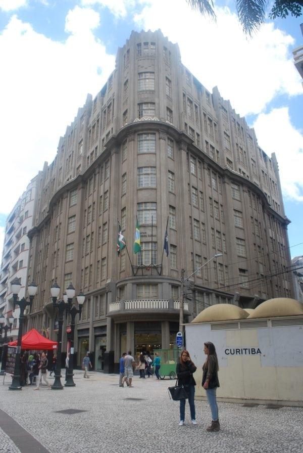 Edifício Moreira Garcez em 2017.