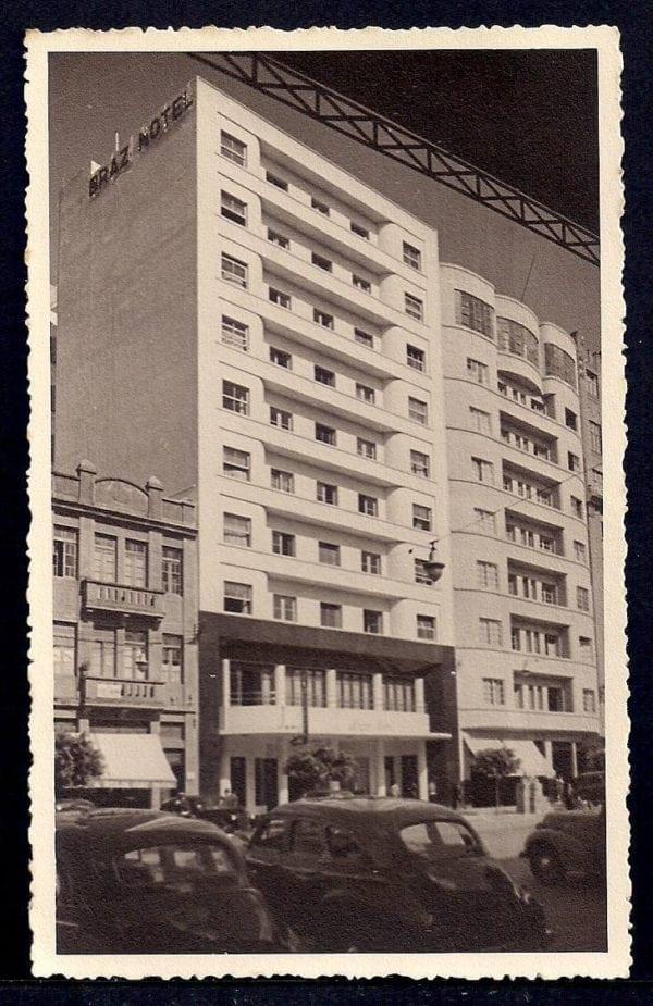 Postal do Braz Hotel que circulou em Curitiba na década de 1940.