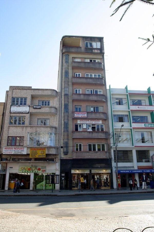 Edifício Santa Rosa em 2017.