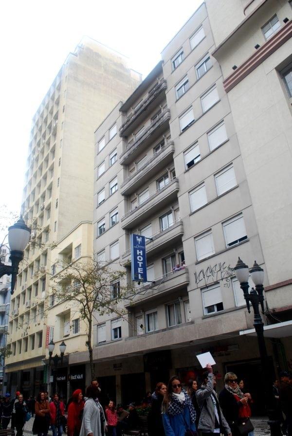 Edifício do Hotel l'Avenue em 2017.