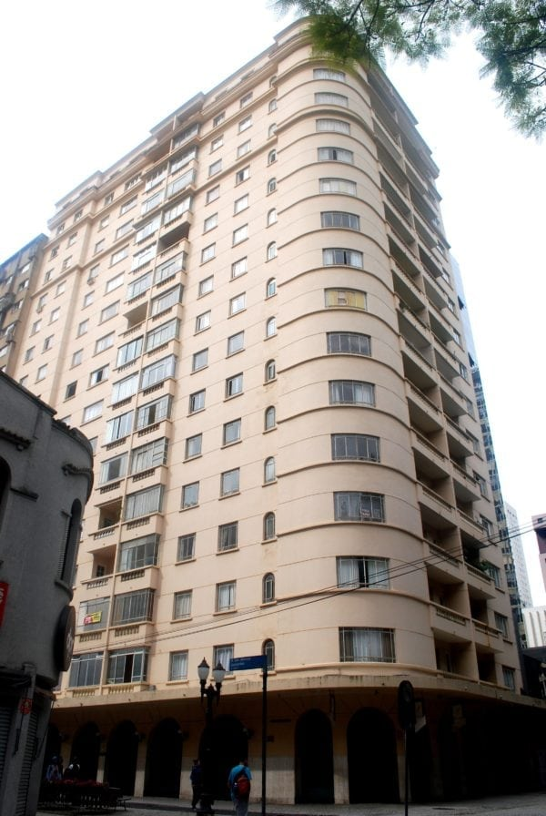 Edifício Santa Júlia em 2017.