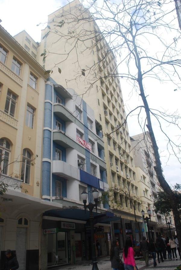 Edifício Lustoza em 2017.