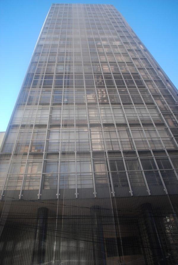 Edifício Mauá em 2017.