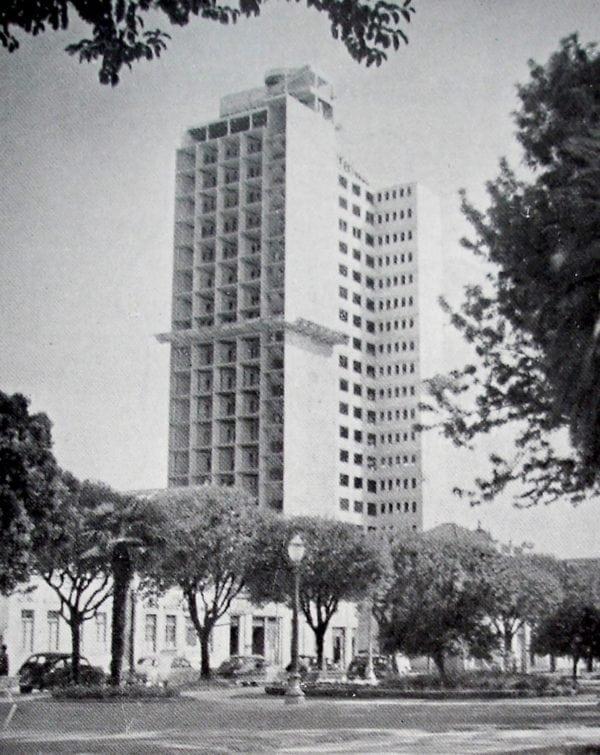 Edifício Mauá em 1952.
