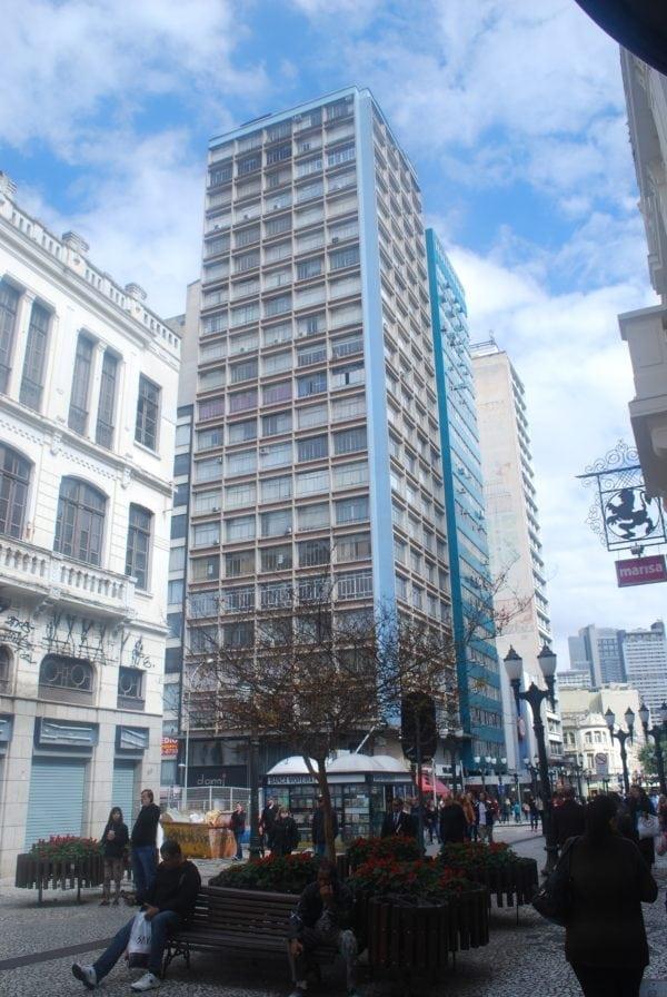 Edifício Manoel de Macedo em 2017.