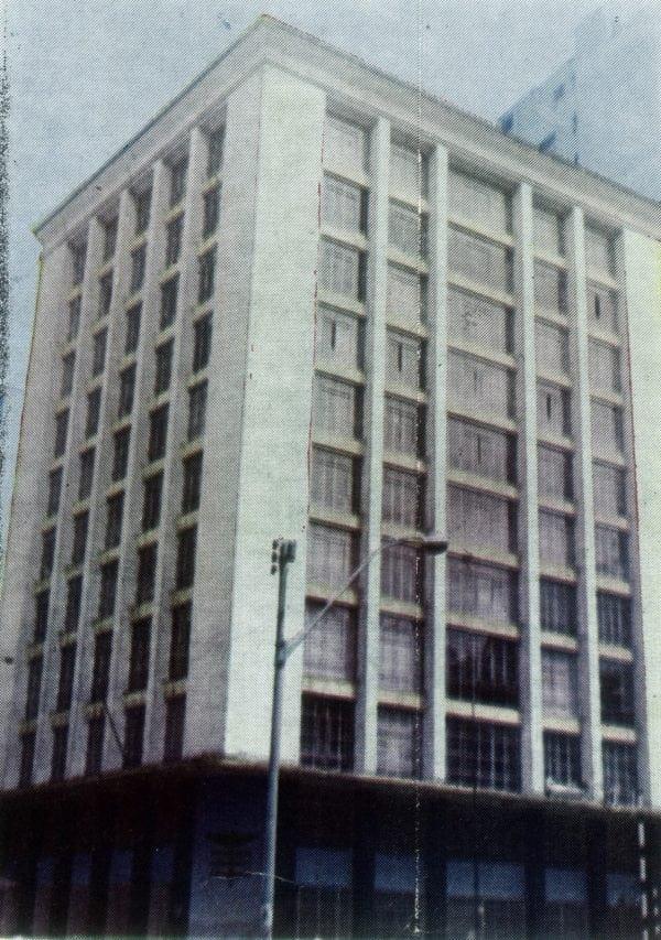 Edifício da Associação Comercial do Paraná em 1969.