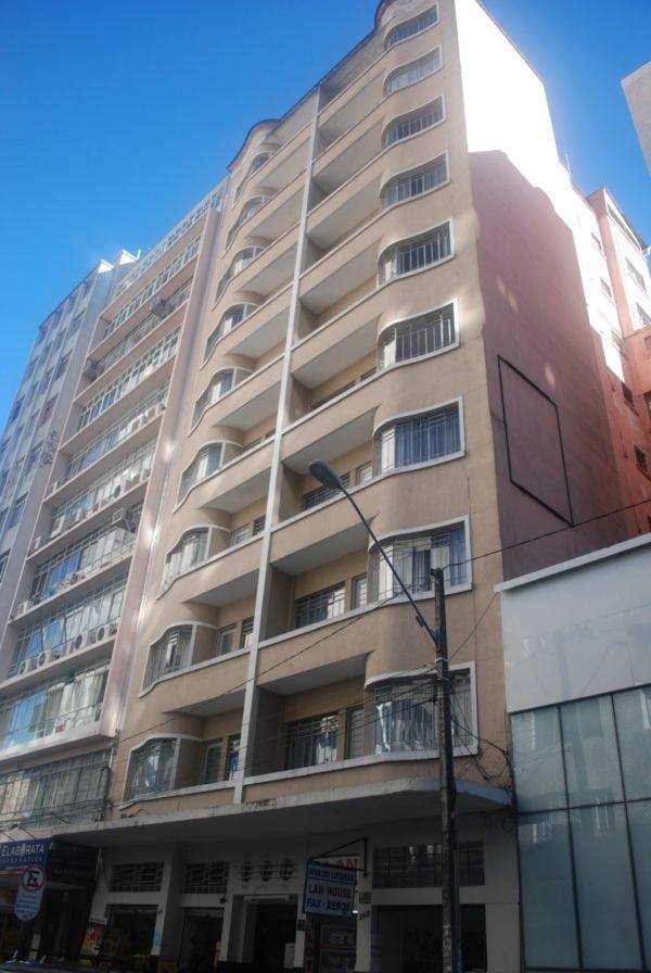 Edifício Bettega em 2017.