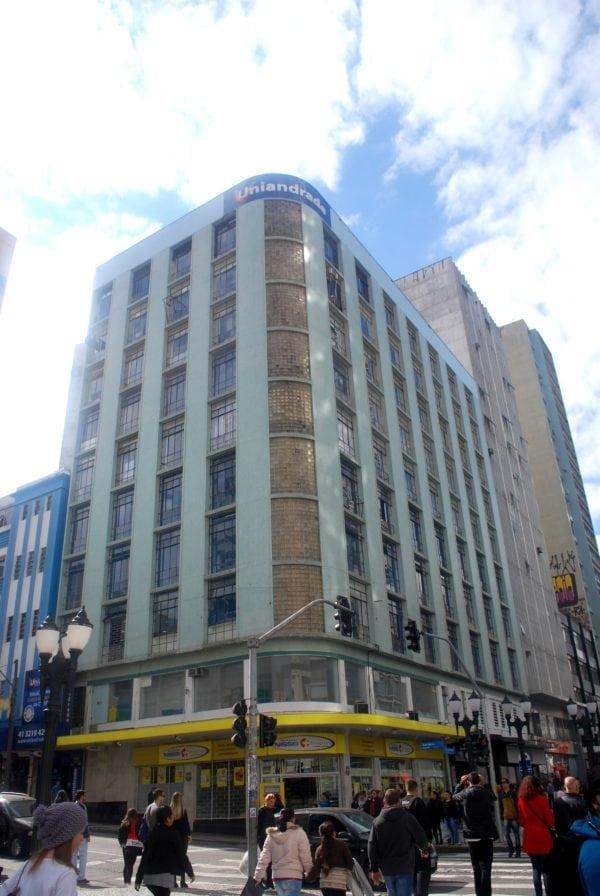 Edifício Azulay em 2017.