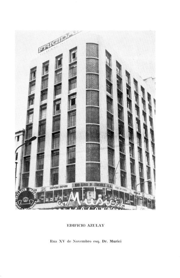 Edifício Azulay em 1969.