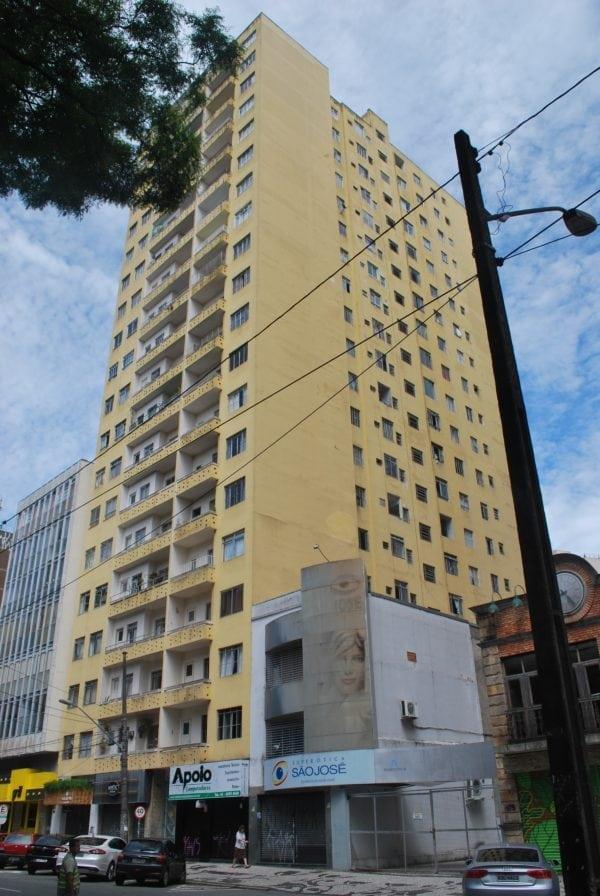 Edifício Comendador Vasconcelos em 2017.